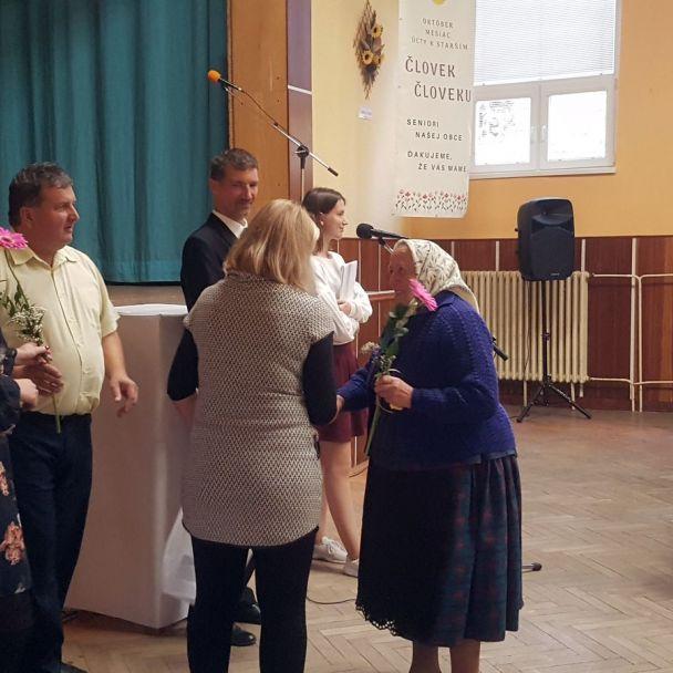 Úcta k starším - ČLOVEK ČLOVEKU 2019