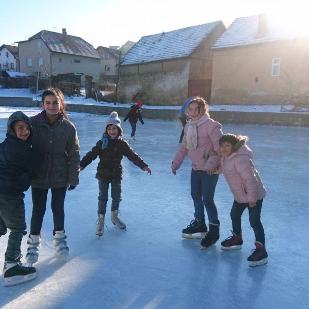 Učíme sa korčuľovať