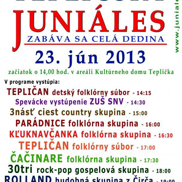 Tepličský Juniáles 2013