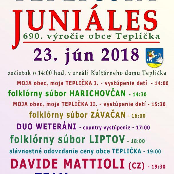 Tepličský Juniáles 2018
