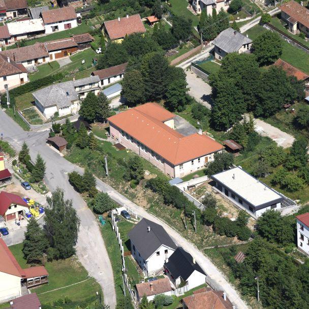Letecké fotografie obce Teplička - 2019