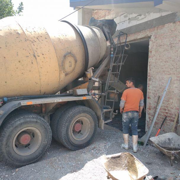 Hasičská zbrojnica - priebeh rekonštrukcie v roku 2020