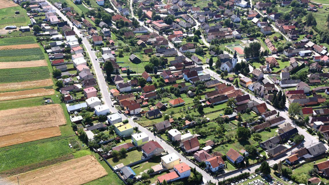 Letecké zábery našej obce