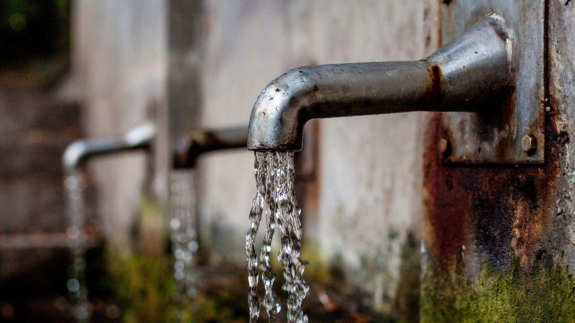 Porucha na vodovode