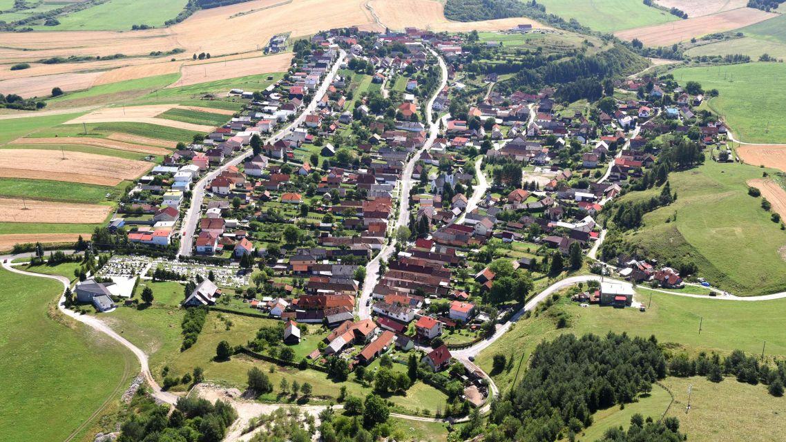 Letecké video našej obce