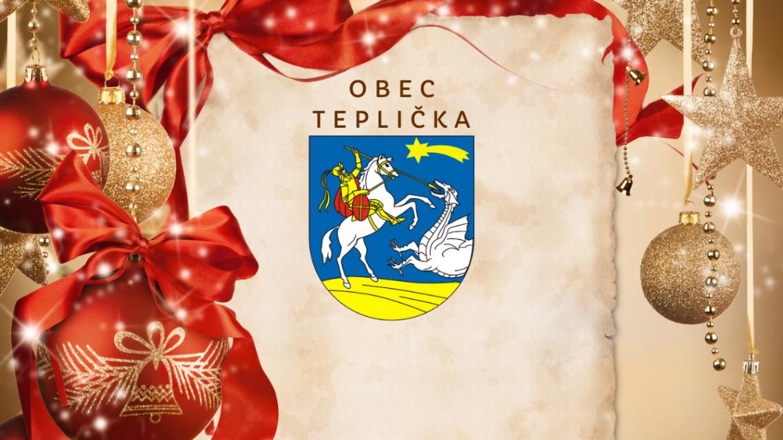 Šťastné a veselé Vianoce prajeme.