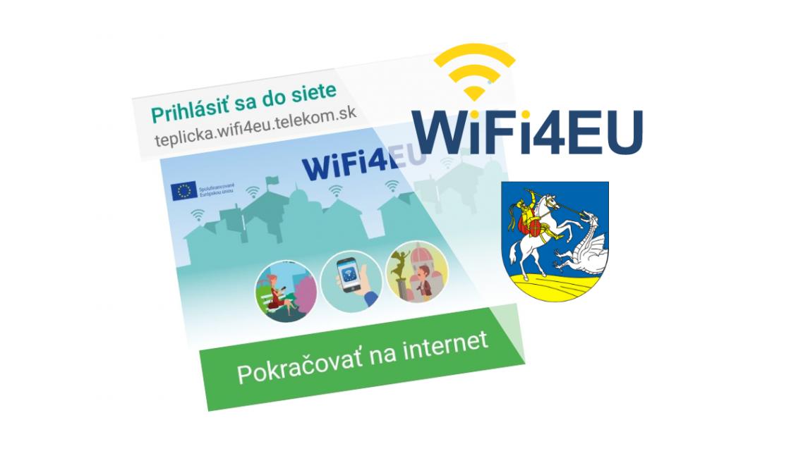 Verejná Wi-Fi sieť v našej obci.