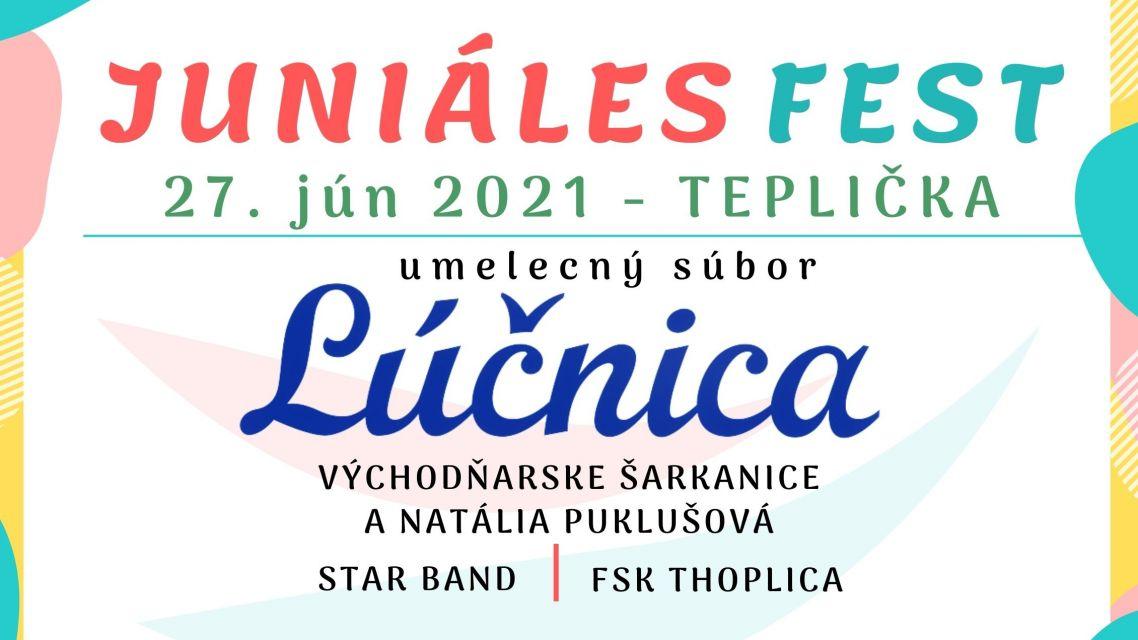 JUNIÁLES FEST 2021